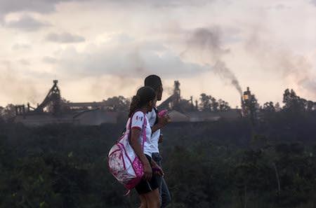 piquia brasil poliucao mineracao ambiente terra recursos combonianos