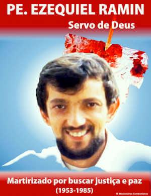 ezequiel ramin processo martirio santinho