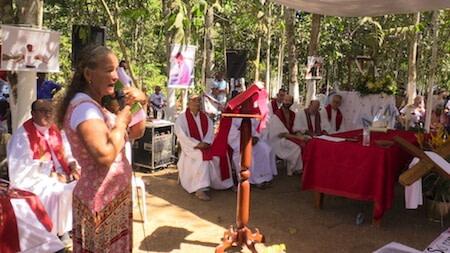 romaria padre ezequiel ramin rondolandia semente testemunho