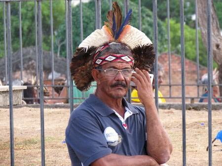 indigena na cidade salvador combonianos fsm